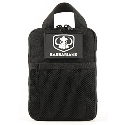 Tactical Pocket Pouch, Barbarians Micro EDC Pocket Organizer Black