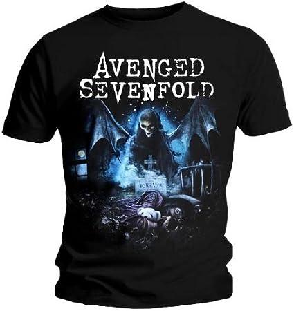 Camiseta oficial AVENGED SEVENFOLD Pesadilla recurrente XXL ...