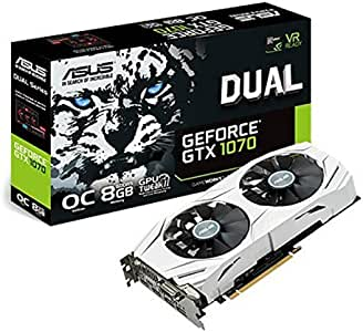 Amazon.com: ASUS ROG Strix GeForce GTX 1070 Ti 8GB GDDR5 ...