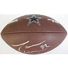 Jason Witten, Dallas Cowboys, Signed, Autographed, NFL Logo Football, a COA with the Proof Photo of Jason Signing Will Be Included with the Football
