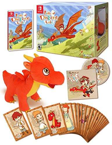 Little Dragons Cafe Limited Edition - Nintendo Switch (Best Limited Edition Games)