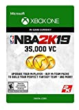 #4: NBA 2K19: 35000 VC Pack - Xbox One [Digital Code]