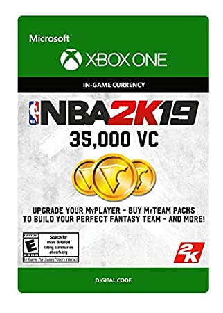 NBA 2K19: 35000 VC Pack - Xbox One [Digital Code]