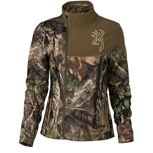 Browning 3014632802 Women's Fever Full Zip Jacket, Mossy Oak Break-Up Country, Medium