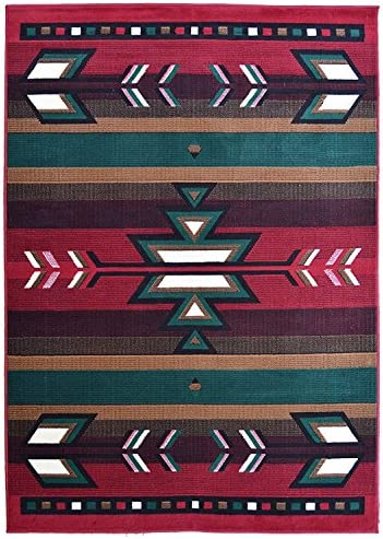 Rugs 4 Less Collection Southwest Native American Indian Area Rug Design R4L SW1