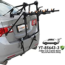 3 BIKE CAR CARRIER RACK BICYCLE REAR RACKS strong