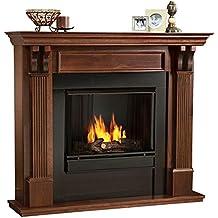 Ashley Gel Fireplace in Mahogany (Mahogany)