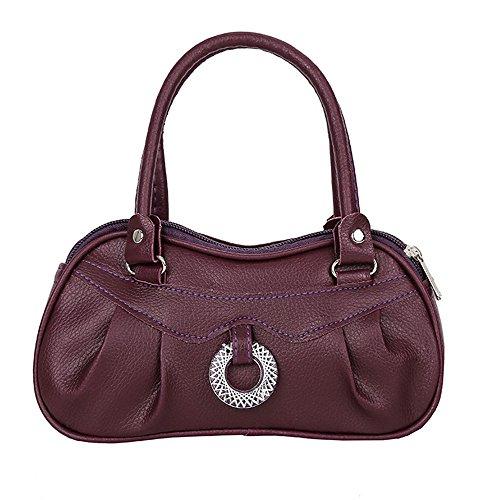 Tracolla Handbag Moda Donna borsetta borsa Tote Donna borse Vintage Cuoio Tracolla borsa Donna Borsa Capiente L pwaOxz