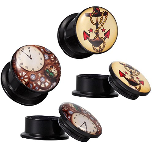BodyJ4You Steampunk Anchor Tapers 4G 16mm product image