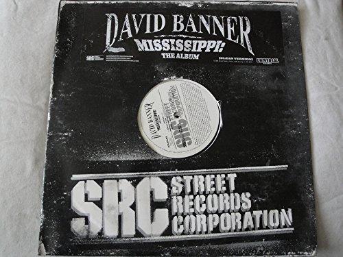 David Banner Mississippi: The Album Double Vinyl Lp SRC Records