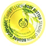 The Body Shop Body Butter, Sweet Lemon, 6.75 Ounce