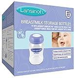 Lansinoh Breastmilk Storage Bottles, 4 Count (5 Ounce...