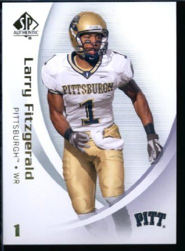 2010 Upper Deck SP Authentic NCAA Football Card #54 Larry Fitzgerald - Panthers (Arizona Cardinals) NFL Trading Card