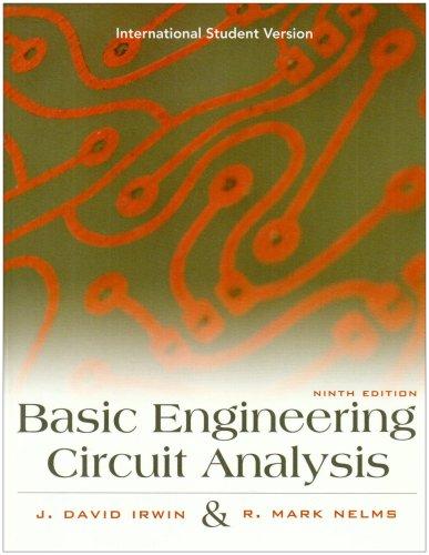 ISV Basic Engineering Circuit Analysis, 9E, International Student Version