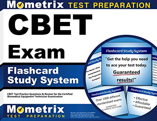 CBET Exam Flashcard Study System: CBET Test Practice Questions & Review for the Certified Biomedical Equipment Technician Examination (Cards) by CBET Exam Secrets Test Prep Team