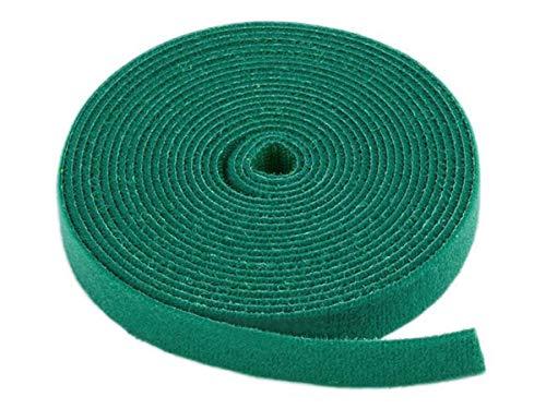- Monoprice Hook & Loop Fastening Tape 5 Yard/roll, 0.75-inch - Green (105833)