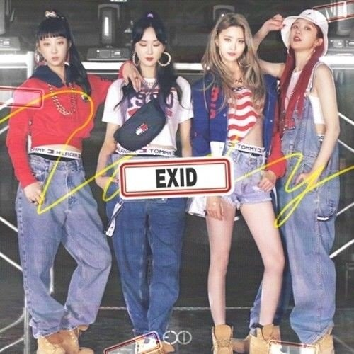 EXID - [Do It Tomorrow] Album CD+Sleeve Case+Jewel Case+Photo Book+Photo Card+Post Card+Name Sticker+Flim Photo K-POP SEALED