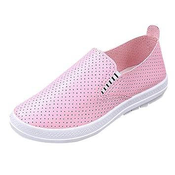 7e6adaee827ed Amazon.com: ❤ Sunbona Women's Flats Shoes Ladies Summer Hollow ...