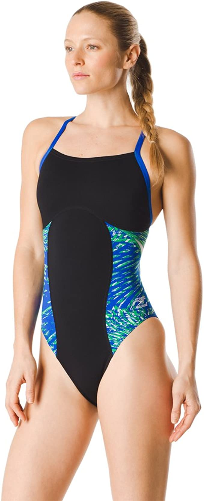 Amazon.com: Speedo Flow Force Splice Flyback - Traje de baño ...