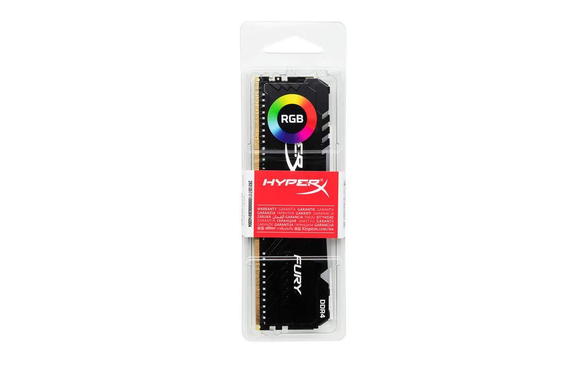 HyperX Fury HX430C15FB3A//8 DIMM DDR4 8GB 3000 MHz CL15 1Rx8 RGB