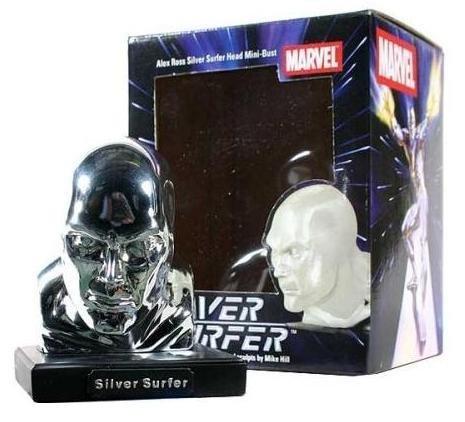 Marvel Universe Silver Surfer Bust by Alex Ross Fantastic 4 (Bust Silver Surfer)