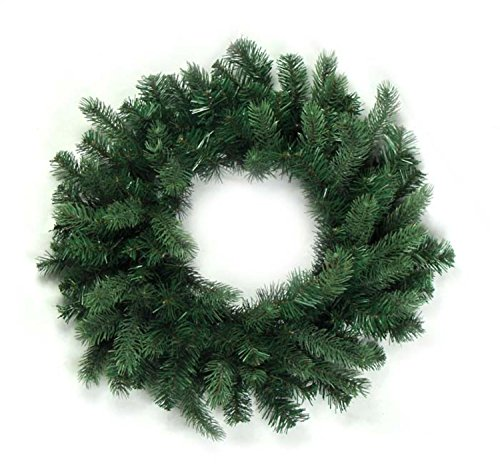 Vickerman Unlit Natural Frasier Fir Artificial Christmas Wreath, 36
