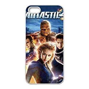 Fantastic Four iPhone 5 5s Cell Phone Case White