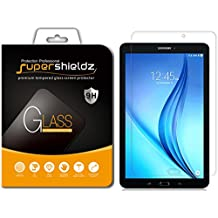 [2-Pack] Supershieldz for Samsung Galaxy Tab E 8.0 inch Screen Protector, [Tempered Glass] Anti-Scratch, Anti-Fingerprint, Bubble Free, Lifetime Replacement Warranty