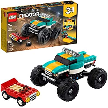 LEGO Creator 3-In-1 Monster Truck Toy Cool Building Kit