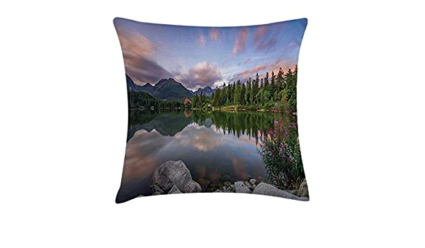 RAINNY Scenery House Decor Throw Pillow Cushion Cover by ...