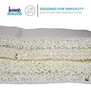 Home Revolution Replacement Humidifier Filter, Fits Part HAC-504AW & Honeywell HCM-300T, HCM-315T, HCM-600 and HCM-710 Models