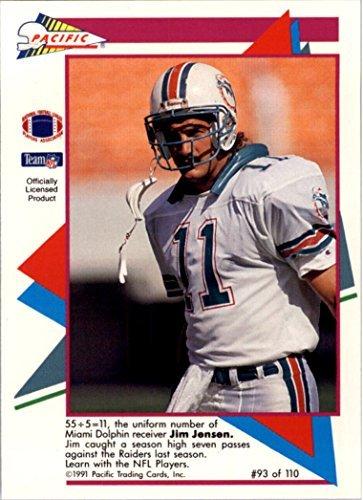 1991 Pacific Flash Cards #93 Jim C. Jensen -