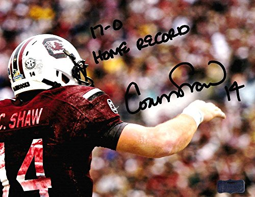 South Carolina Gamecocks Collectibles (Signed Connor Shaw Photograph - South Carolina Gamecocks 8x10 NCAA ... - Autographed NFL Photos)