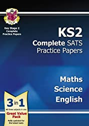 KS2 Complete SATs Practice Papers - Science, Maths and English