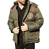 Seibertron Men's Winter Outdoor Leisure Hooded Down Jacket Coat