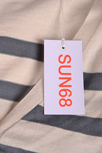 Sun 68 Cardigan Donna MCBI286086O Cotone Bianco