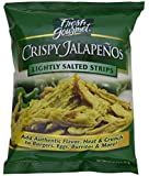 Fresh gourmet Crispy Jalapenos, Lightly Salted, 16 ounce (1 lb) Bag