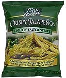 Fresh gourmet Crispy Jalapenos, Lightly Salted, 16 ounce