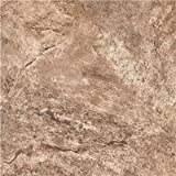 ARMSTRONG PEEL N' STICK TILE 12 IN. X 12 IN. FAWN TRAVERTINE SILVER 1.14MM (0.045 IN.) / 45 SQ. FT. PER CASE