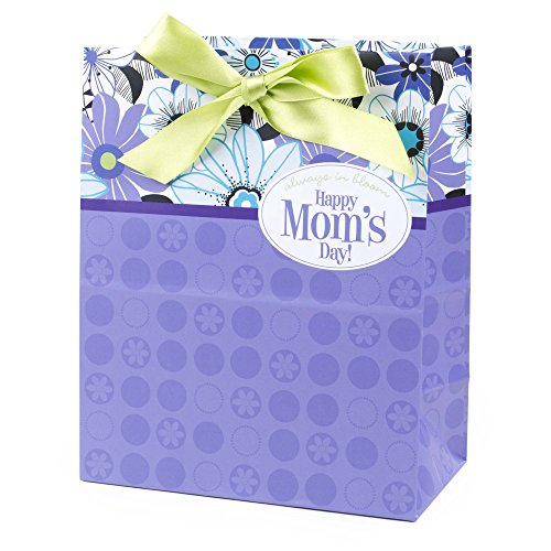 Mommy Card Holders (Hallmark Medium Mother's Day Gift Bag (Purple Floral))