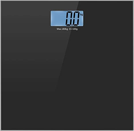 Digital Electronic Glass Body Weighing Scale LCD Accurate 400LB//180KG Bathroom