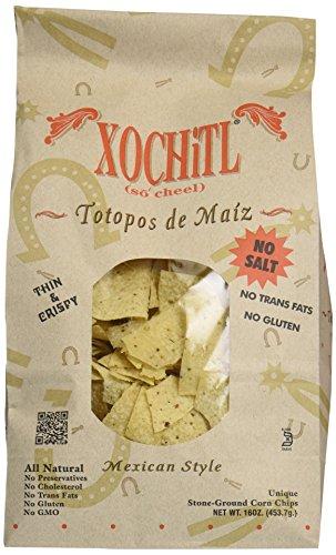 xochitl no salt corn chips - 1