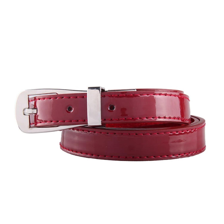 Nanxson(TM) Women's Skinny Narrow Solid Ladies Casual Belt PDW0007