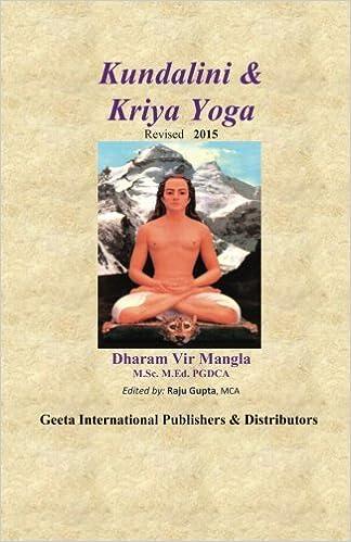 Kundalini & Kriya Yoga: Amazon.es: Sri Dharam Vir Mangla ...