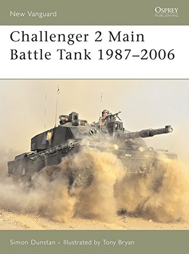 Challenger 2 Main Battle Tank 1987–2006 (New Vanguard) (Tank Battle Main Challenger)