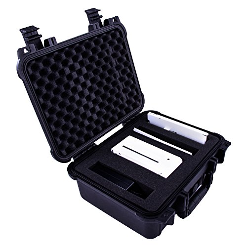 CASEMATIX Waterproof Kodak Dock Photo Printer Carry Case – Perfect to Protect and Travel With Kodak Dock Wifi 4x6 Portable Printer , Photo Paper , Tray , Cartridge and Charging Adapter