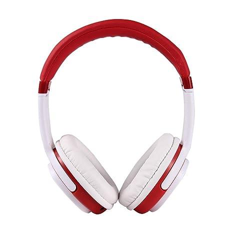 Sencillo Vida Auriculares Inalámbrico estéreo Música Over-Oreja Sonido de Alta fidelidad Calling Construido en Mircophone Manos Libres para Apple iPhone, ...