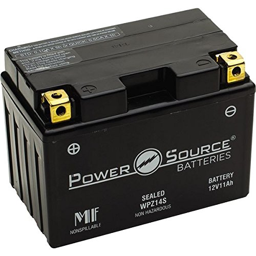 PowerSource 01-344 WPZ14S Sealed Battery -