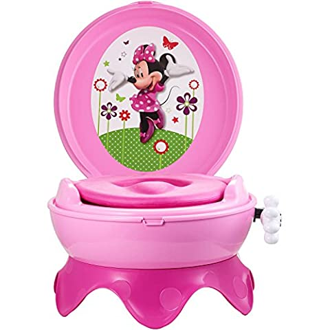 The First Years Disney Baby Minnie Mouse 3-in-1 Potty Training Chair with Detachable Seat (Hippo Tales Potty)