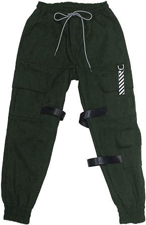Amazon Com Bts Jungkook Pantalones De Chandal Para Nino Con Correa De Color Verde S Clothing